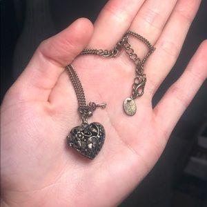 Claire's Heart Necklace